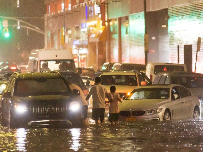 At Least 8 Dead After Rainfall From Ida Overwhelms NYC Region