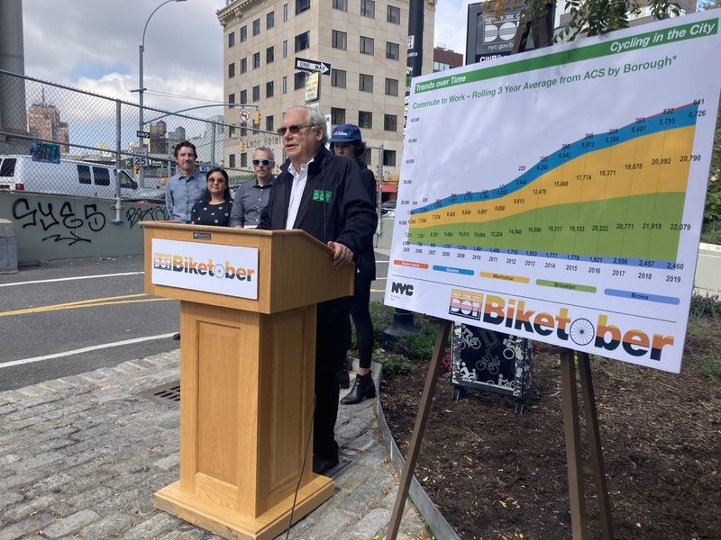 Pandemic bike boom fizzles — but long-term data shows 'cycling is a thing' in NYC, says DOT commish