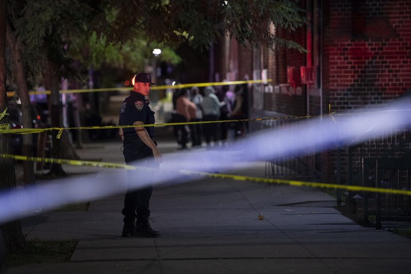 Man, 19, critically wounded by gunshot to head as he sat on Brooklyn stoop