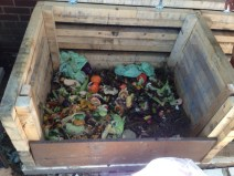 30 Gallons (roughly 90 Liters) of Food Scraps!