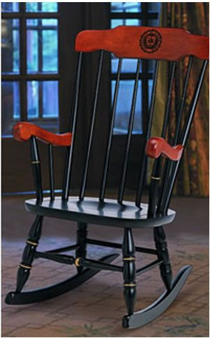 notre dame chair swivel cuddle g201102 rocking university of product