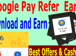 google pay app refer and earn