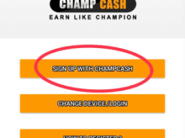 champcash S Sign Up