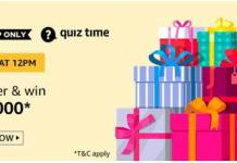 Amazon Quiz Contest Today Answer