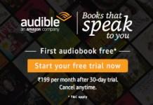 Amazon Audible Free