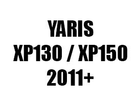 Tipske kadice za gepek za TOYOTA YARIS (2011+)