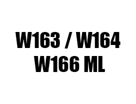 Тунинг фарове стопове решетки степенки за Мерцедес МЛ W164