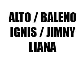 Πατάκια για Suzuki Alto / Baleno / Ignis / Jimny / Liana