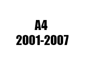 Πατάκια AUDI A4 2001 2002 2003 2004 2005 2006 2007