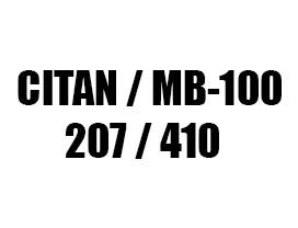 Ανεμοθραύστες για Mercedes Citan / MB-100 / 207 / 410