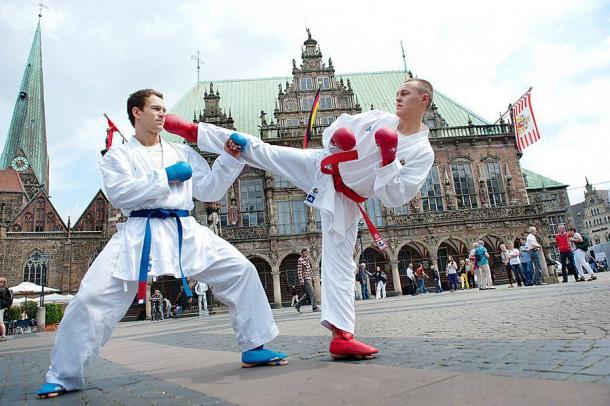Karate WM Bremen 2014