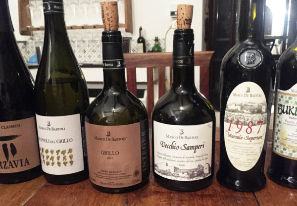 Sicilian grillo in shapes and flavours from Marco de Bartolio