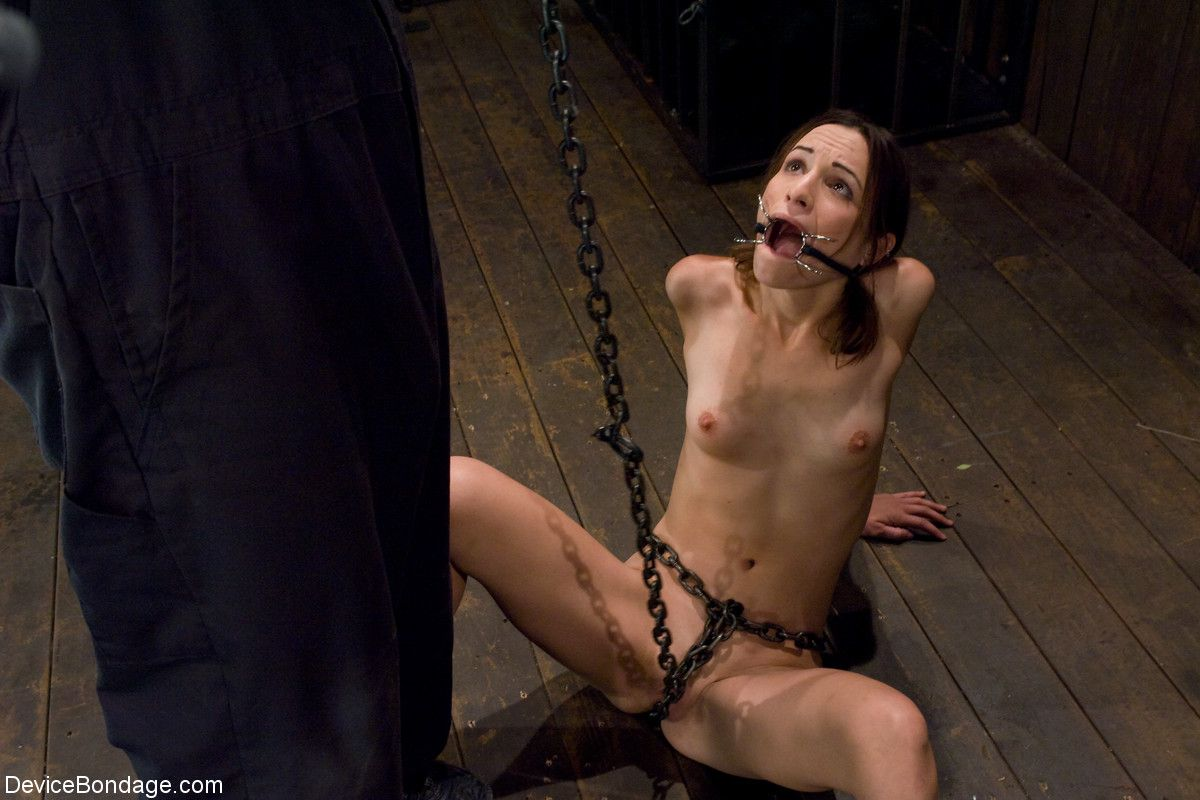 Advise you Naked girl chained mud
