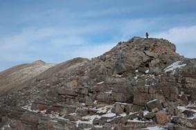 Walkers heading towards the summit of Ruadh-stac Mor on Beinn Eighe.