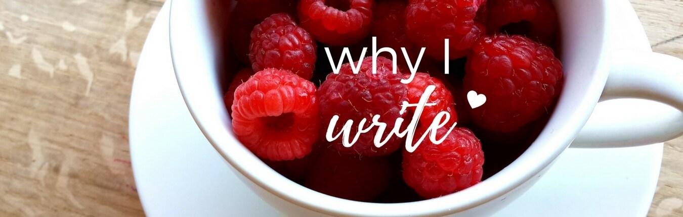 Header - Why I Write
