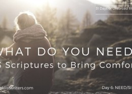 Day 6 - What do you need?
