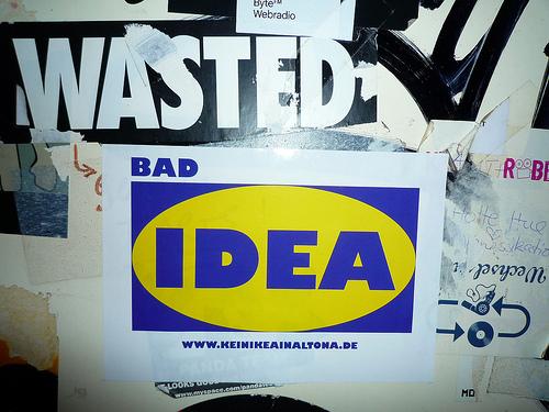 Reclamo  le cucine IKEA  Alla ricerca del bianconiglio