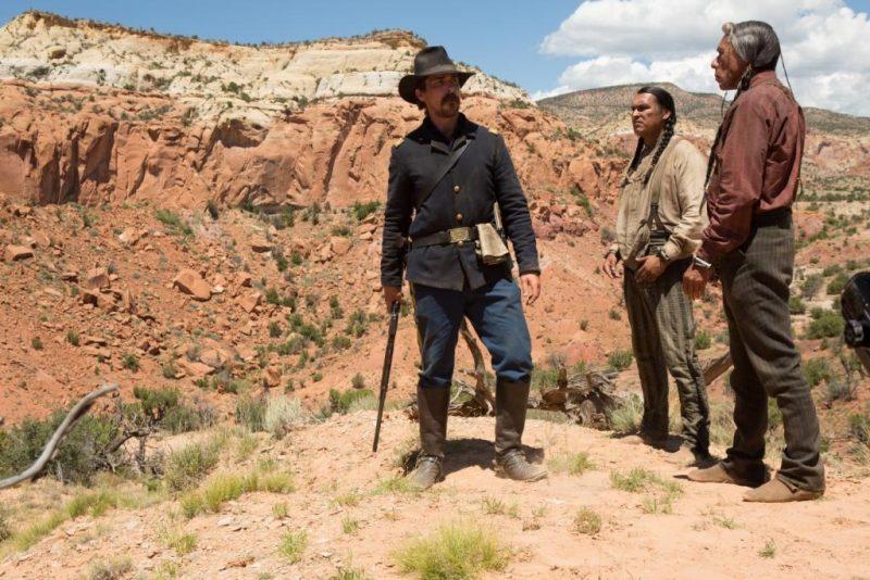 Hostiles, canyon du Nouveau-Mexique