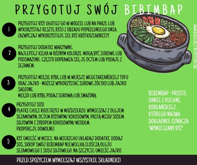 Jak przygotować bibimbap