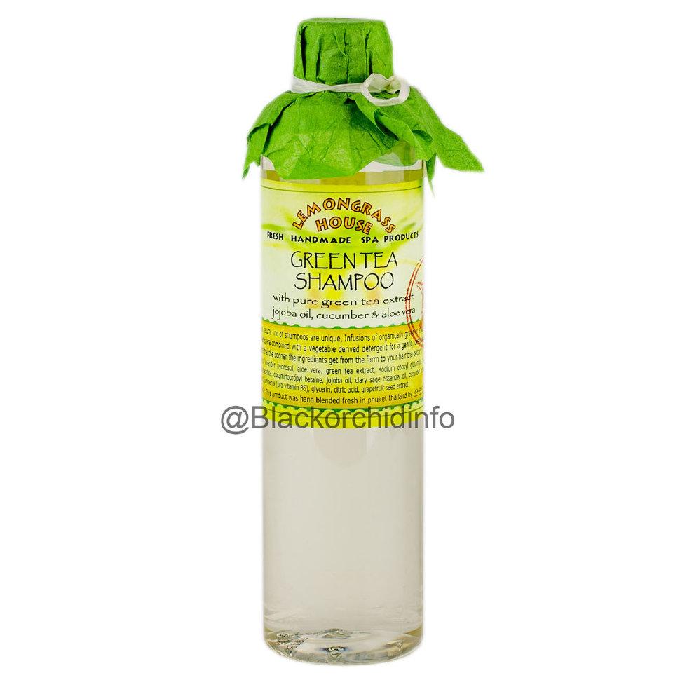 Шампунь Lemongrass «Зеленый чай», 120 мл