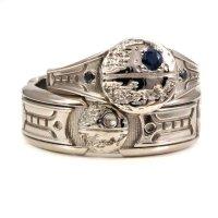 Star Wars Wedding Rings - BLACK RINGS