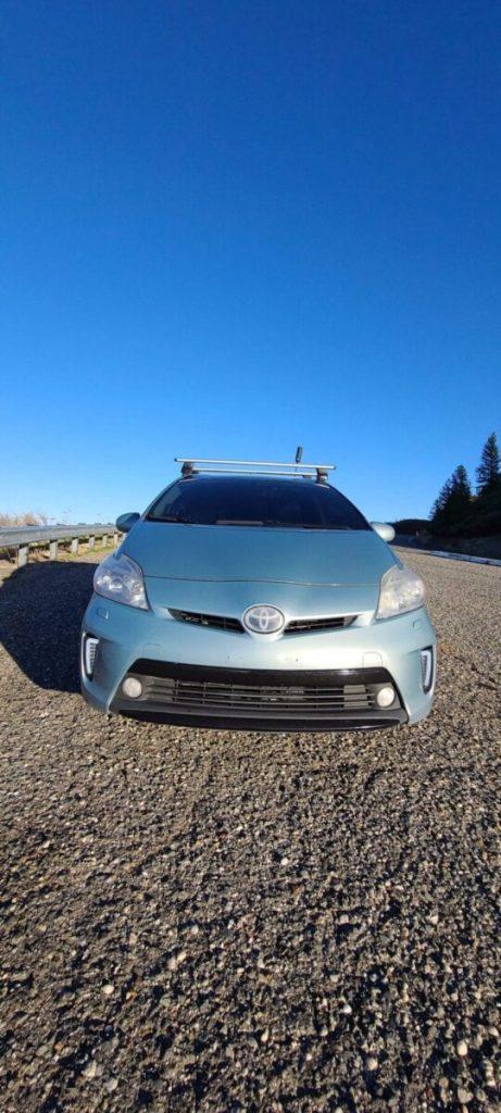 2013 Toyota Prius Thule Wingbar Evo