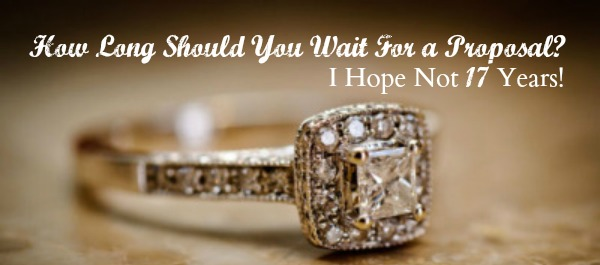How long should you wait for an engagement ring