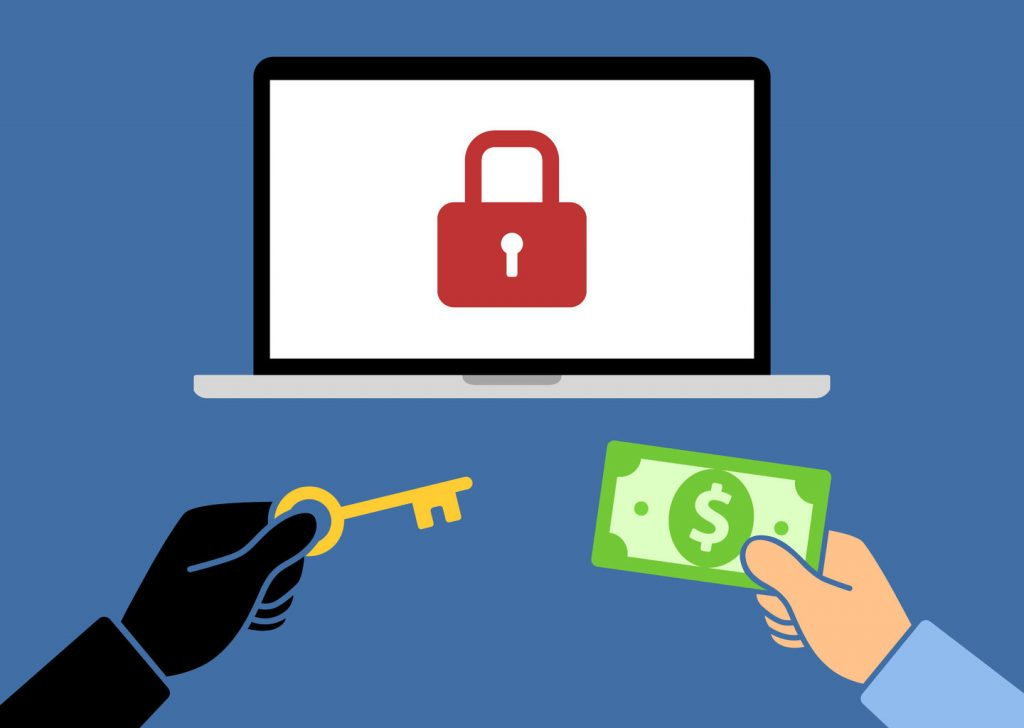 Ransomware locked