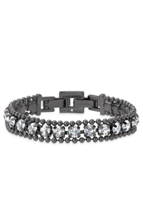 Urbane Hematite Bracelet $34