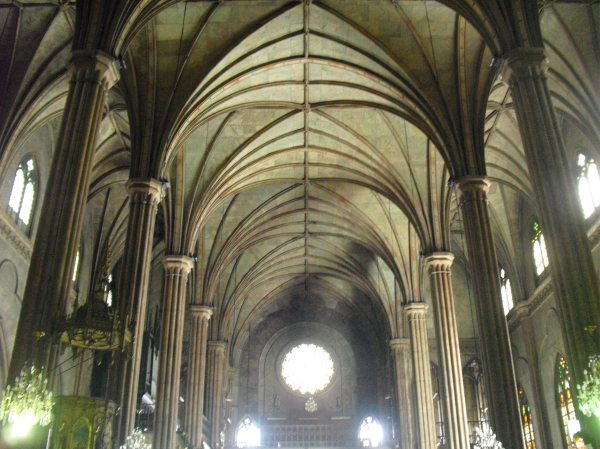 Ribbed Vault Gothic Architecture