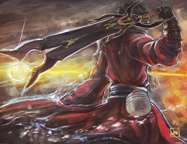 auron-final-fantasy-x-game-art-tribute