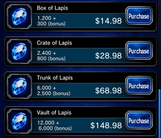 lapis pricing
