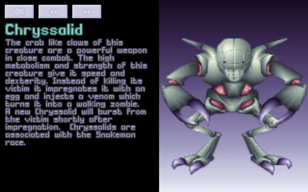 X-Com Chryssalid