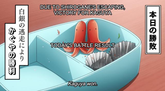 Kaguya-Sama Today's Battle Result 2