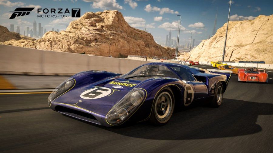 Jabel Hafeet is the new destination in Forza Motorsport 7