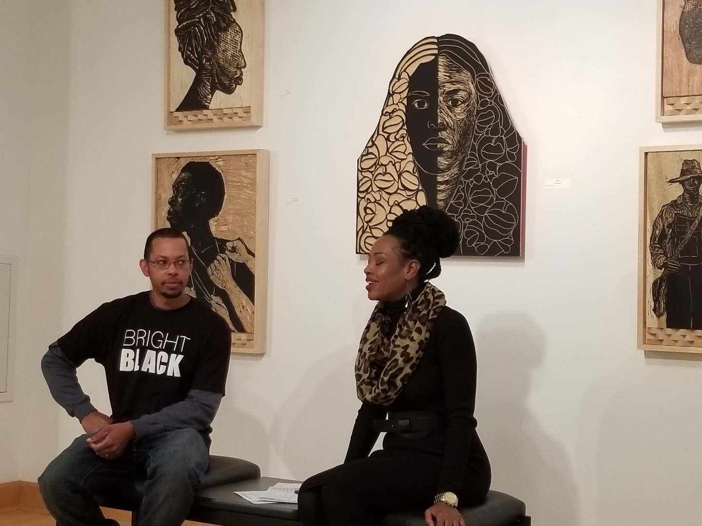 BAIA Talks: Jamaal Barber artist talk moderated by Ida Harris