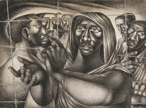Charles White's: Retrospective, Opens Next Week at the Art Institute of Chicago