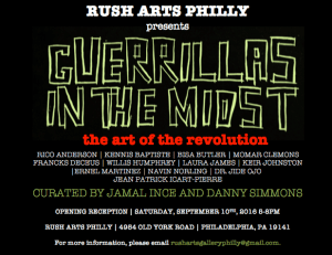 rush arts philly