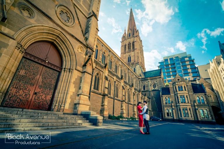 墨爾本婚拍 聖保羅座堂 St Paul's Cathedral
