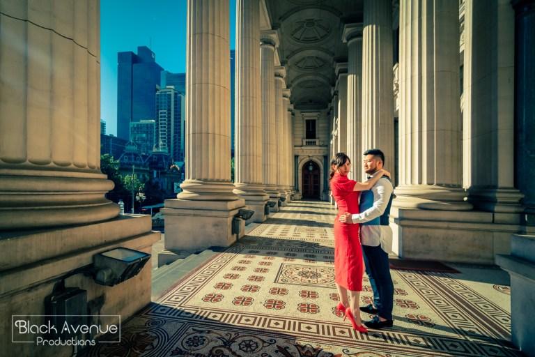 墨爾本婚拍 國會大廈 Parliament House