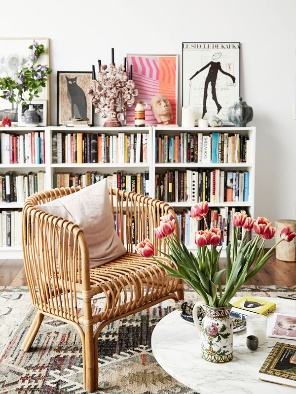 TEXTILE DESIGNER ELIZA GRAN'S HOME IN LA // PHOTO: JENNA PEFFLEY FOR LONNY