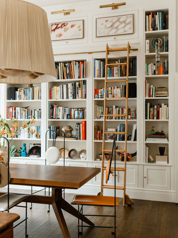 PAPERLESS POST COFOUNDER JAMES HIRSCHFELD'S NYC HOME // PHOTO: MAX BURKHALTER