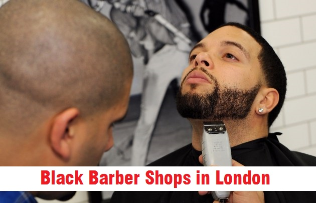 black barber shops in london