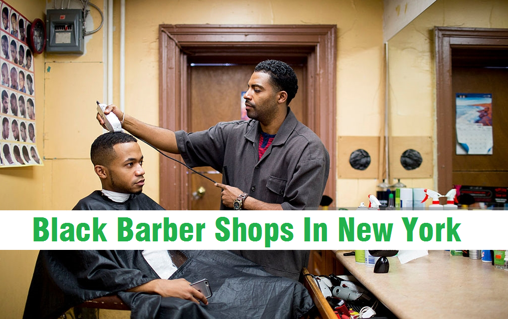 black barber shops in new york