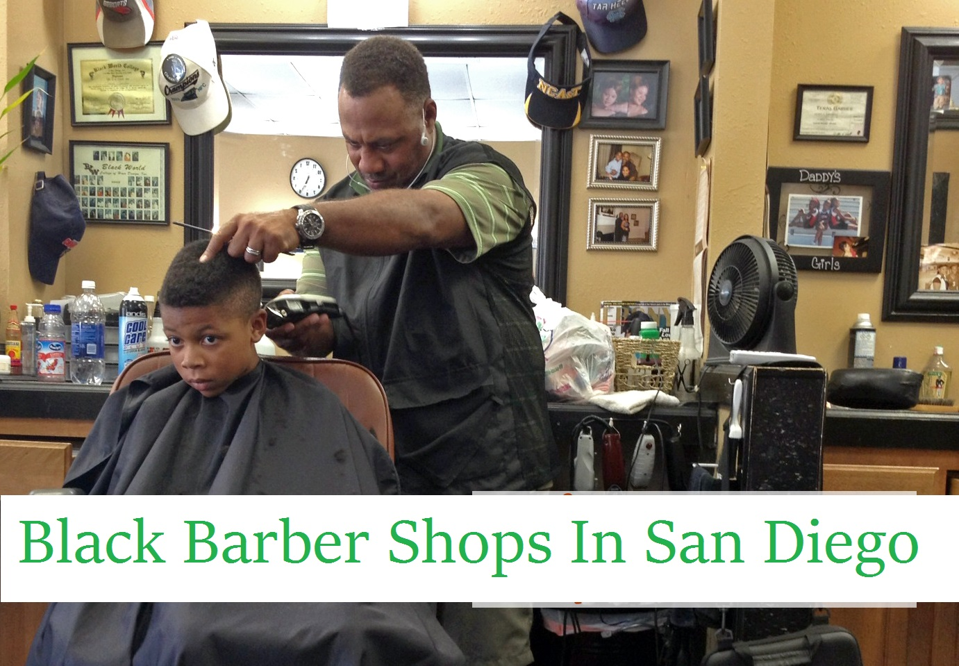 Black Barber Shops In San Diego California   Nearest & Closest