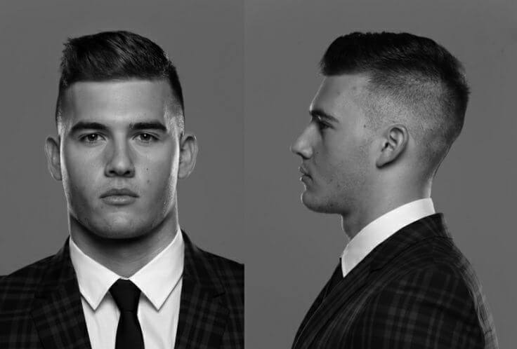 men's hairstyles with diamond faces