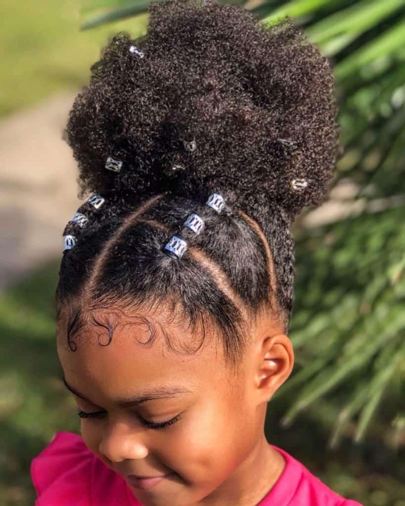 15 Easy Kids Natural Hairstyles Black Beauty Bombshells