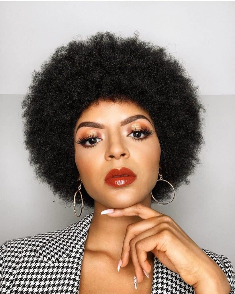 40 Simple Easy Natural Hairstyles For Black Women