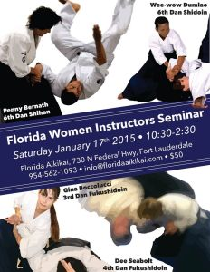 2015-01-17 Florida Women Instructors Seminar