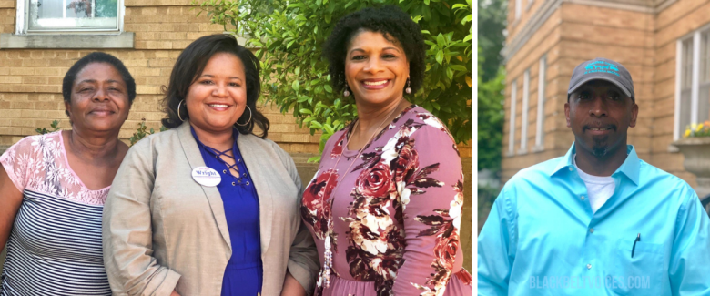 Rene Henderson, Jackie Wright, Shelia Isby, and Wefus Tyus are running for political office in Faulkner County, Arkansas.